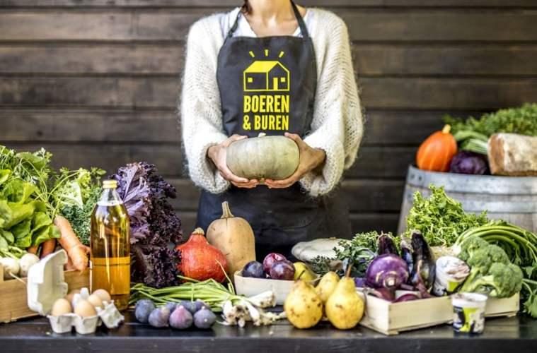 Boeren & Buren: tafel met groenten