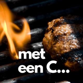 Barbecue is met een c