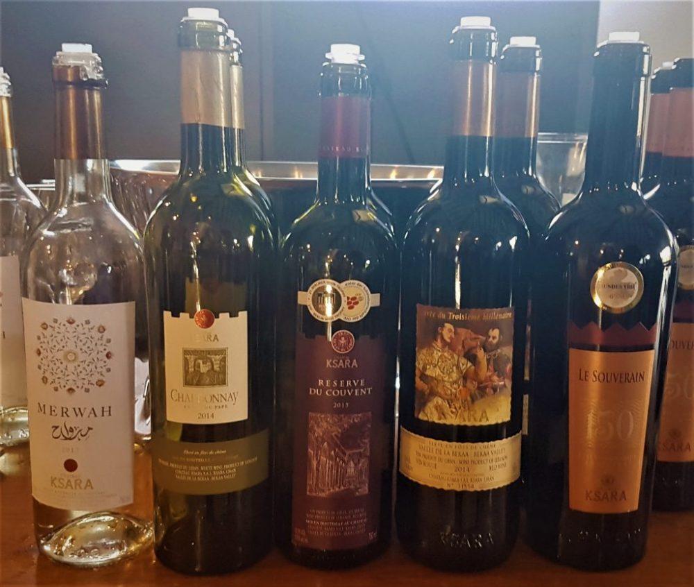 De wijnen van Château Ksara