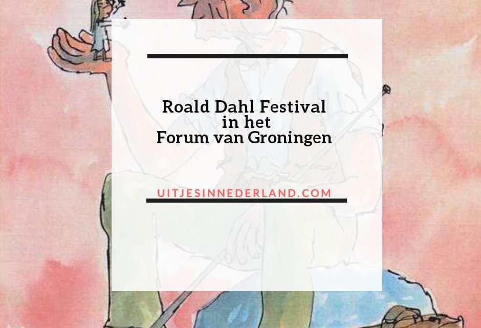 Roald Dahl Festival in het Forum van Groningen.