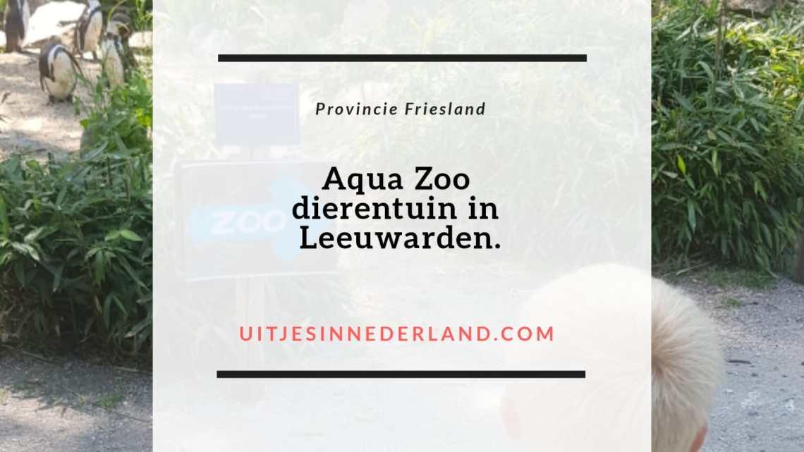 Aqua Zoo, dierentuin in Leeuwarden.