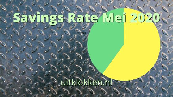 Savings Rate Mei 2020