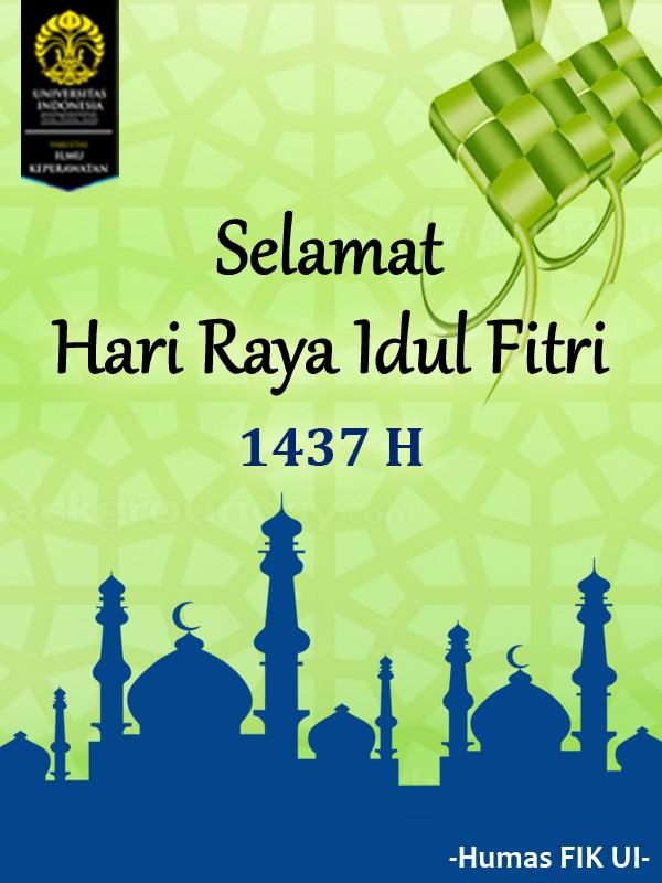 Selamat Hari Raya Idul Fitri 1437 H Uiupdate