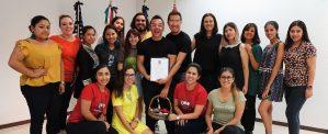 Diseñadores de Yalitza Aparicio visitan a nuestros alumnos de moda