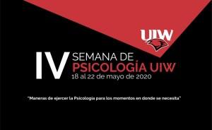 IV Semana de Psicología UIW