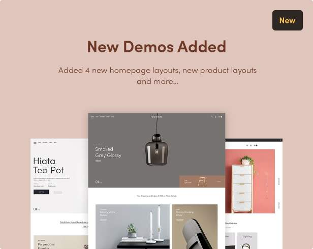 Sober WordPress theme demos