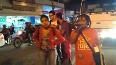 Em Feira de Santana-BA, UJC-Brasil esteve presente em ato contra o preços dos combustíveis