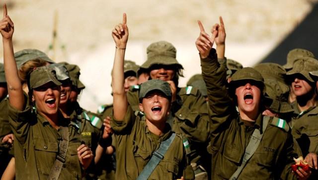 Izraeli katonák - fotó/internet