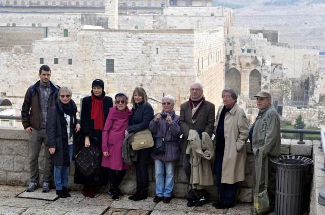 Séta Jeruzsálemben - fotó: Tardos Zoltán