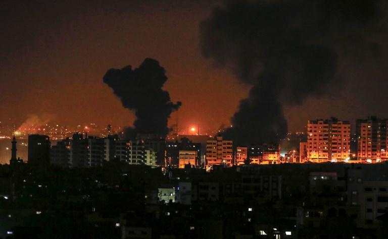Az izraeli légierő megtorló támadásokat hajtott végre a Gázai övezetben | Új Kelet online