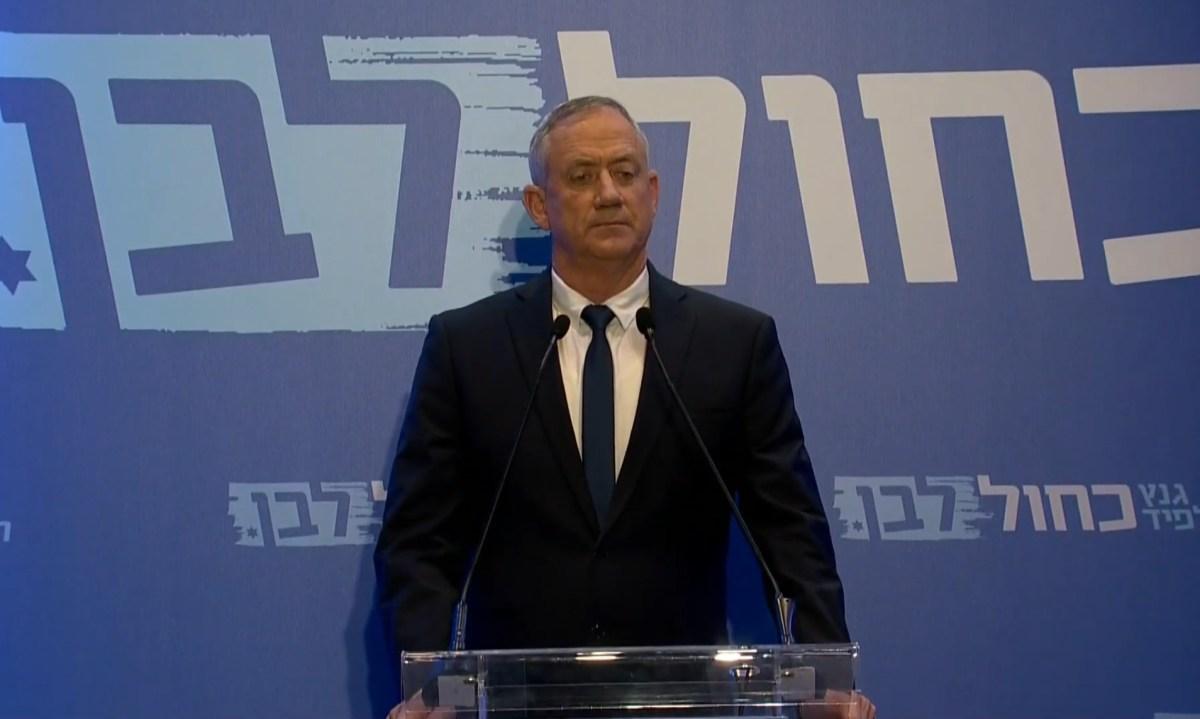 Gantz: Megértem, hogy a szavazók csalódtak bennem, én azt akarom, ami a legjobb Izrael Állam számára