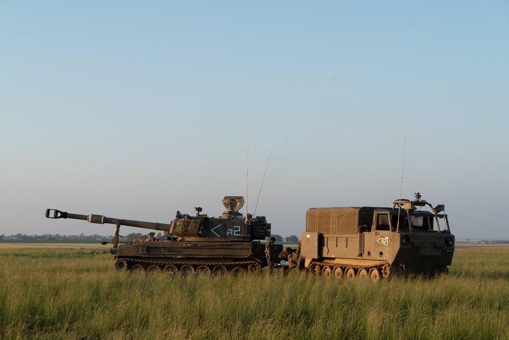 Egy izraeli tank véletlenül tüzet nyitott a Gázai övezet irányába