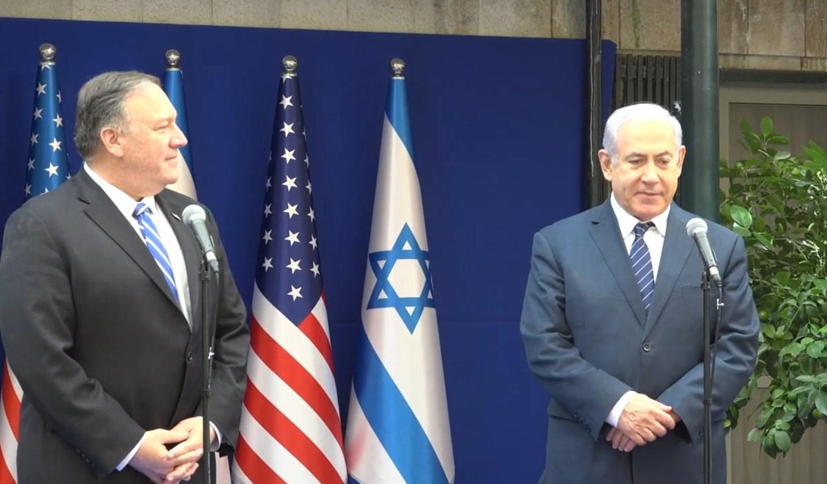 """Pompeo: Az USA engedélyezni fogja, hogy a Júdea és Szamáriában gyártott termékeket """"Made in Israel"""" címkével lássák el"""