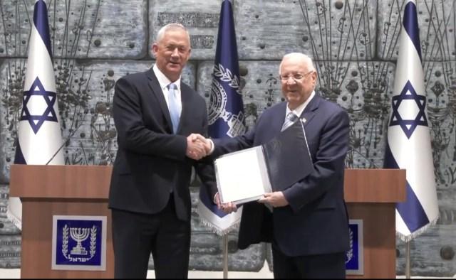 Beni Gáncot bízta meg a kormányalakítással Rivlin államfő