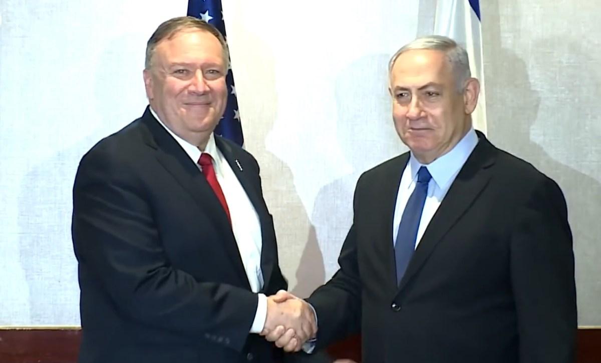 Pompeo részt vesz egy háromoldalú csúcstalálkozón Jeruzsálemben Netanjahuval és a bahreini külügyminiszterrel