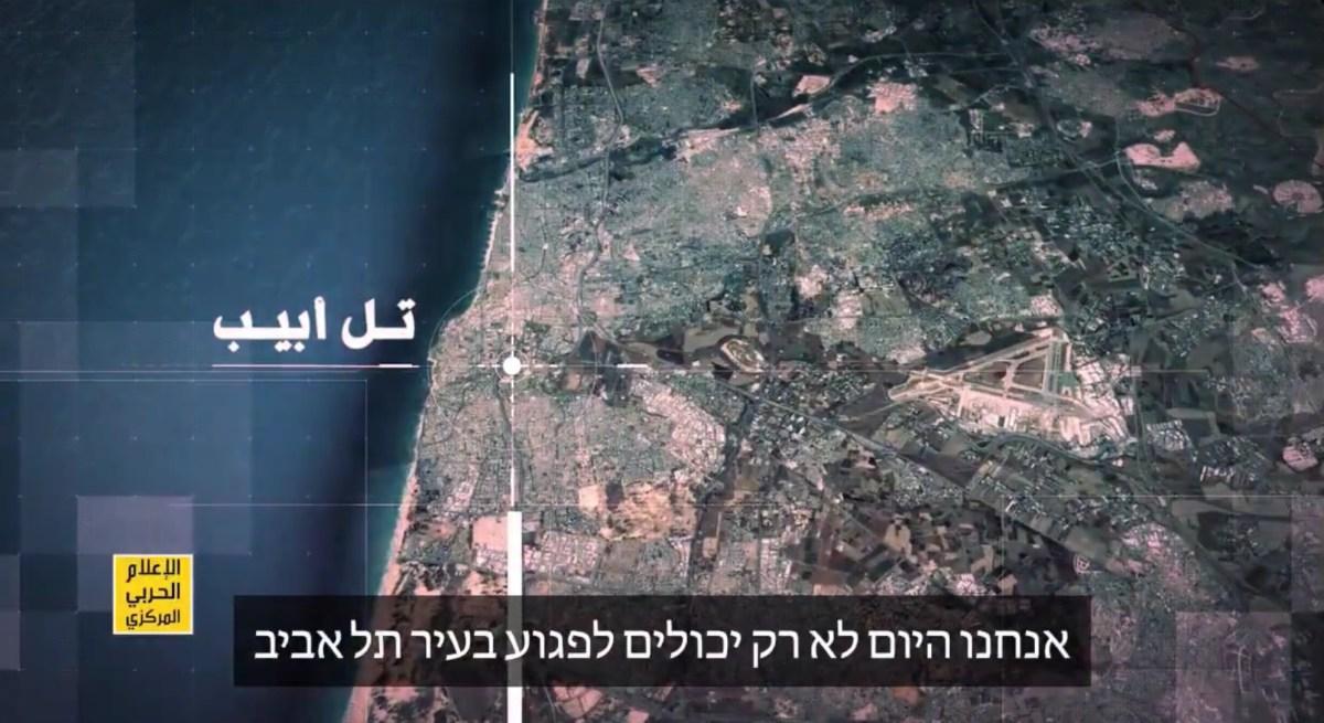 A Hezbollah rakétaesővel fenyegeti Izraelt egy videoklipben