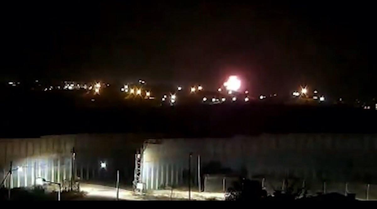 A hadsereg megtorlócsapást mért a Hamászra az Izraelbe átreptetett terror léggömbökért