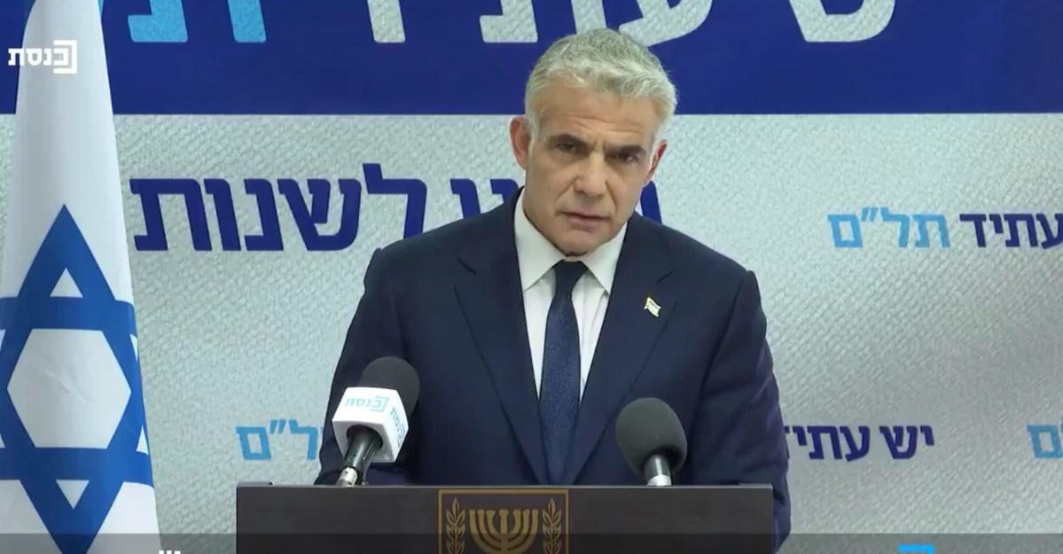 Lapid: Az Egyesült Államok következő elnöke Izrael barátja lesz