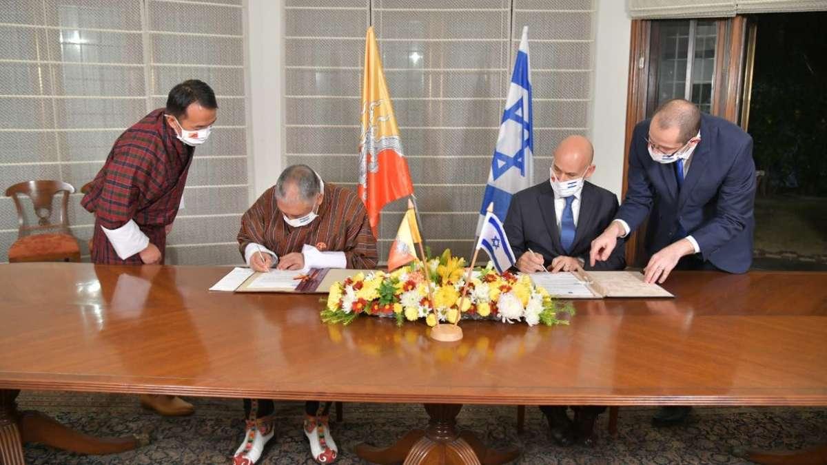 Izrael diplomáciai kapcsolatot létesít Bhutánnal