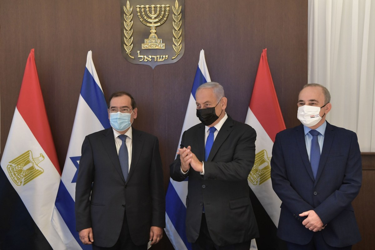 Ritka alkalomként, egy egyiptomi miniszter érkezett Izraelbe, tárgyalásokat folytatni az energetikai együttműködésről