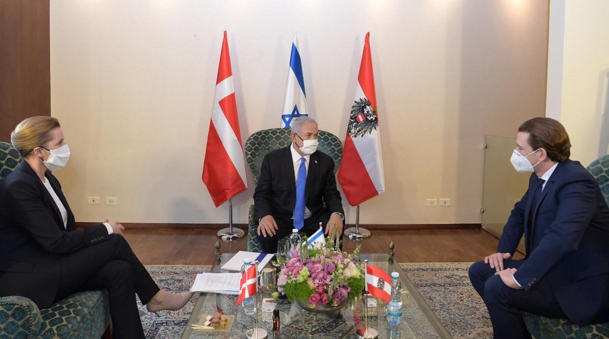 Netanjahu: Izrael, Ausztria és Dánia vakcina-szövetséget hoz létre