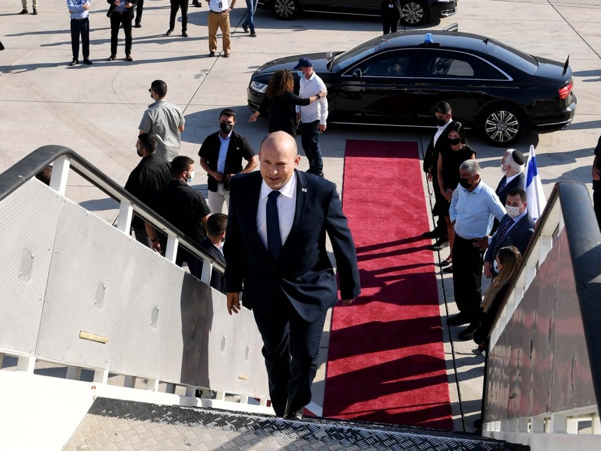 Bennett elindult Washingtonba, új együttműködési szellemet ígérve | Új Kelet online