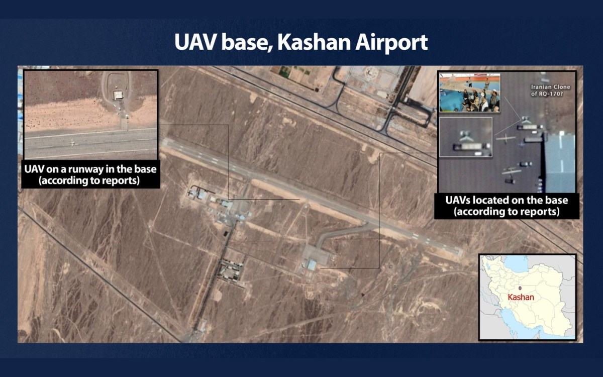 Gantz leleplezte a bázist, ahol Irán terrorista operatívokat képez ki a dróntámadásokhoz | Új Kelet online