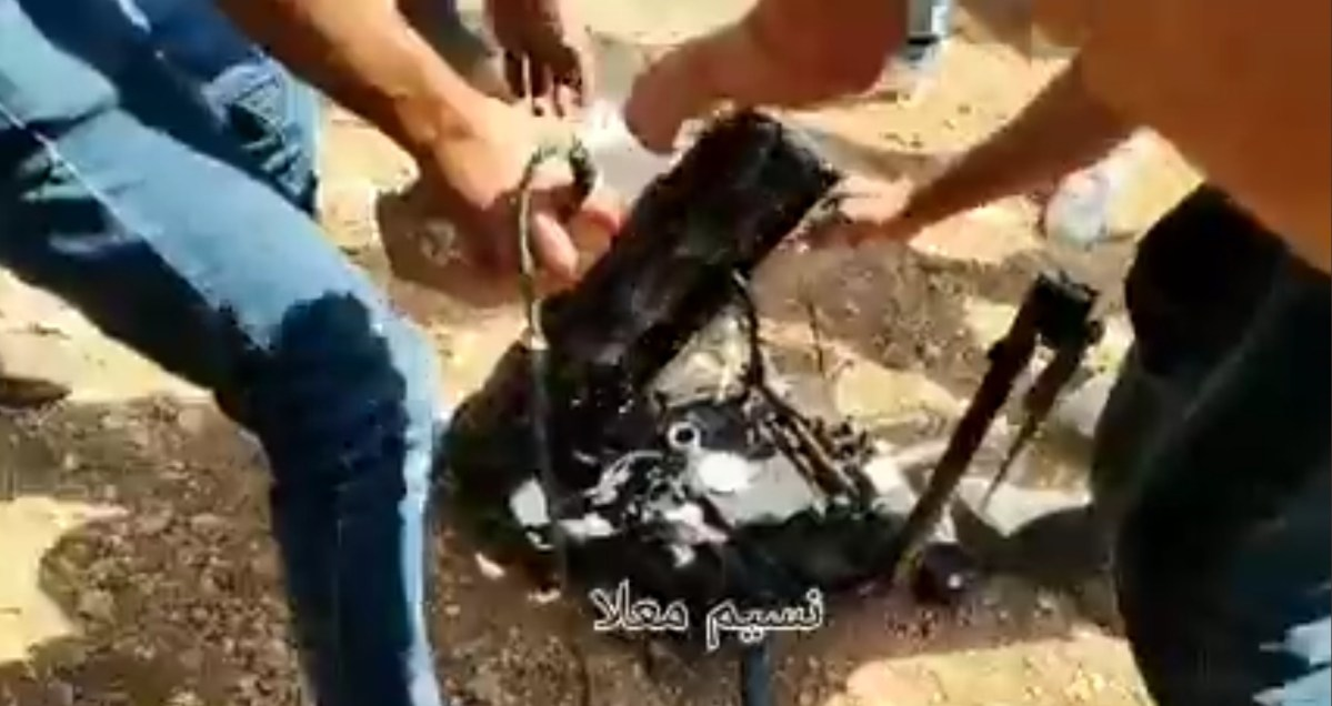 Lezuhant egy izraeli drón Beitánál, a palesztinok kiélték rajta a dühüket | Új Kelet online