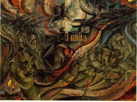 Umberto Boccionai (1882-1916): Az elme állapotai (1911)