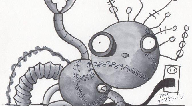 Tim Burton: A robotfiú