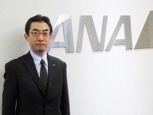 ANA 米州総支配人兼ニューヨーク支店長の平子裕志氏