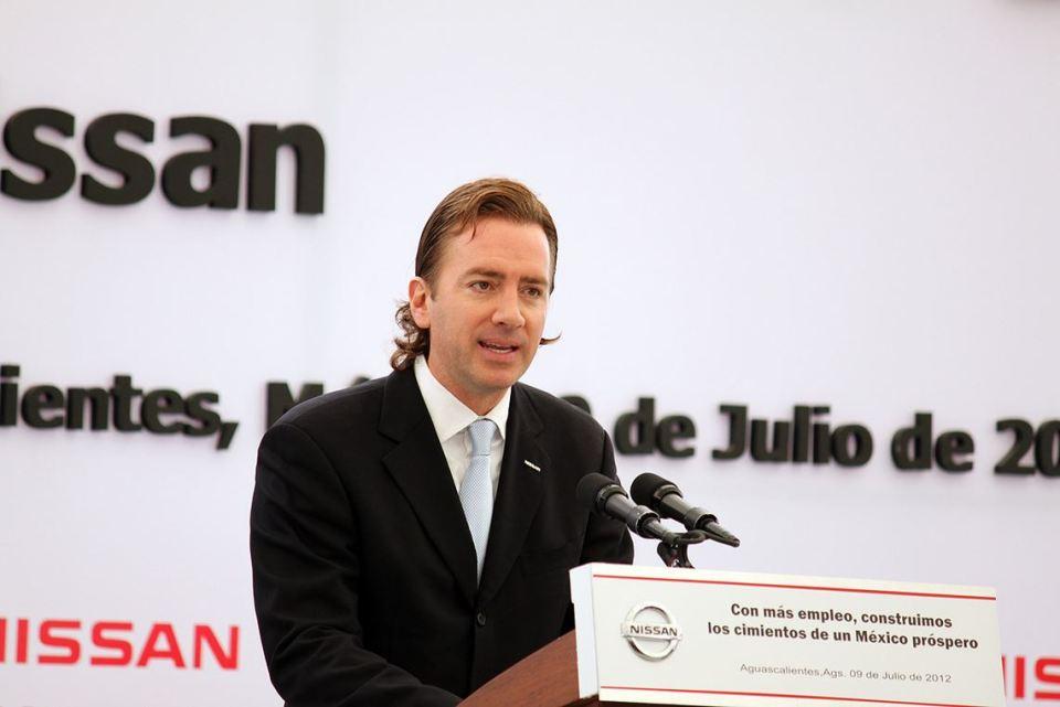 Nissan Mexicana President Jose Valls