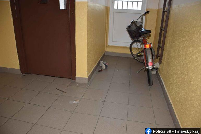 Berúgta a lakás ajtaját, majd földre taszította a terhes nőt egy férfi Nagymegyeren