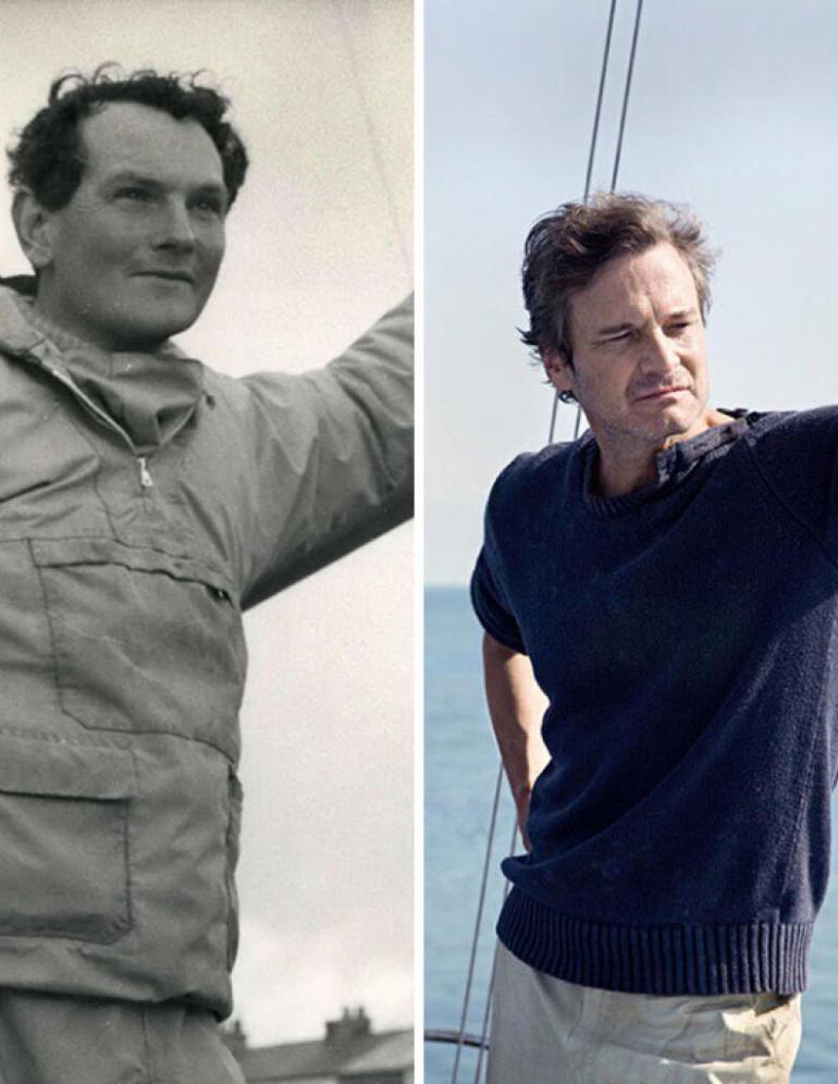 Donald Crowhurst kalandos életét mutatja be A kegyelem című film. Donald szerepét Colin Firth játssza.