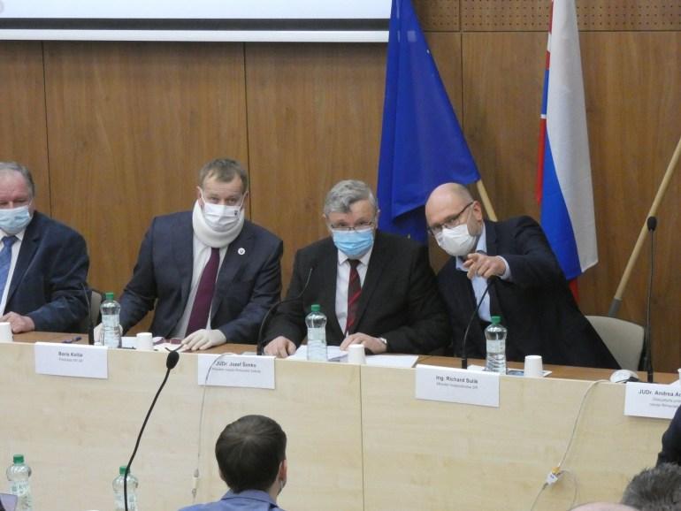 Boris Kollár, Jozef Šimko és Richard Sulík