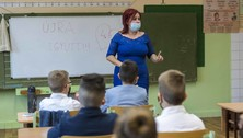 koronavírus iskola