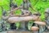 A Central Park egyik legismertebb szobra, az Alice Csodaországban