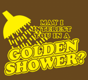 Golden Shower Meme