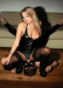 Sitting Slave's Face