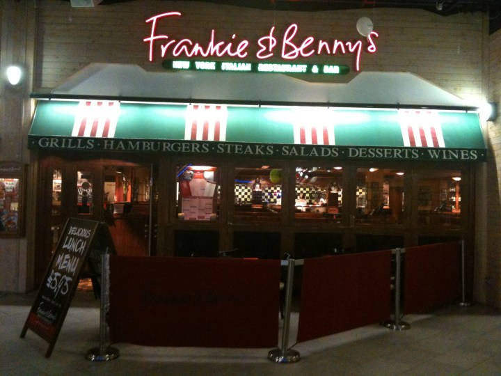 Frankie and Bennys, Restaurant group plc