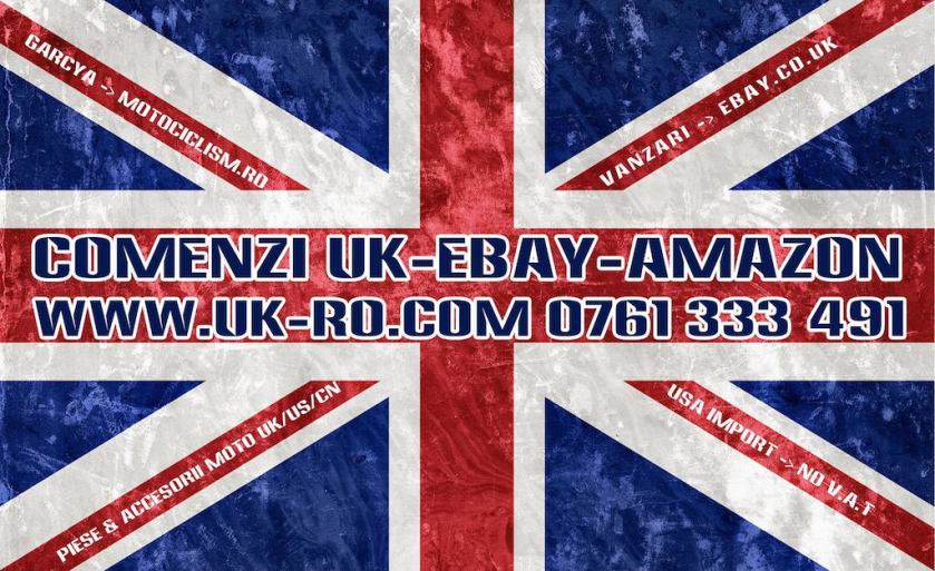 Comenzi UK Anglia eBay amazon