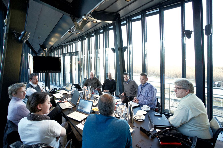 Erhvervsklub mødelokale