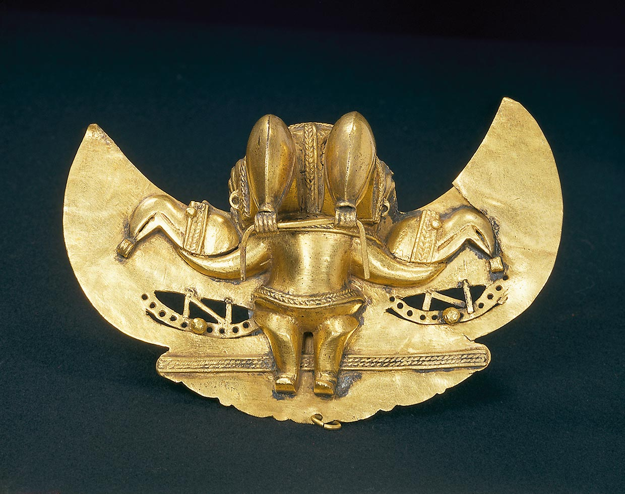 Pendant from the Tairona culture in Colombia, 1300-1500, The National Museum of Denmark. Photo: Kit Weiss