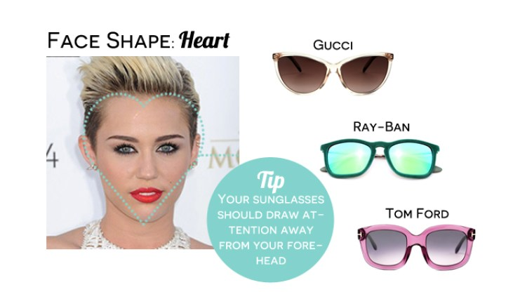 d1fd170c2 Sunglasses for Face Shape - Summer Edition   EyeStyle - Official ...