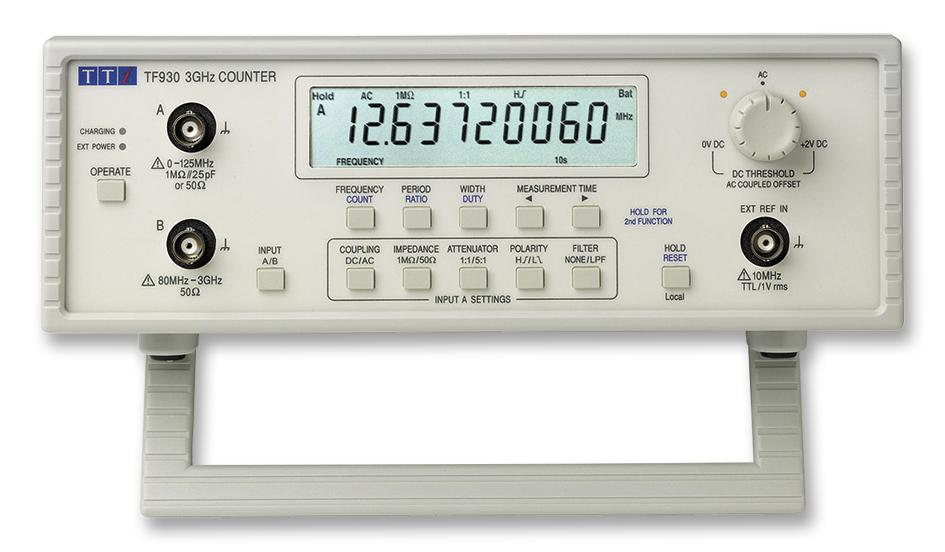 Tf930 Aim Tti Instruments Frequency Counter 0 001hz To