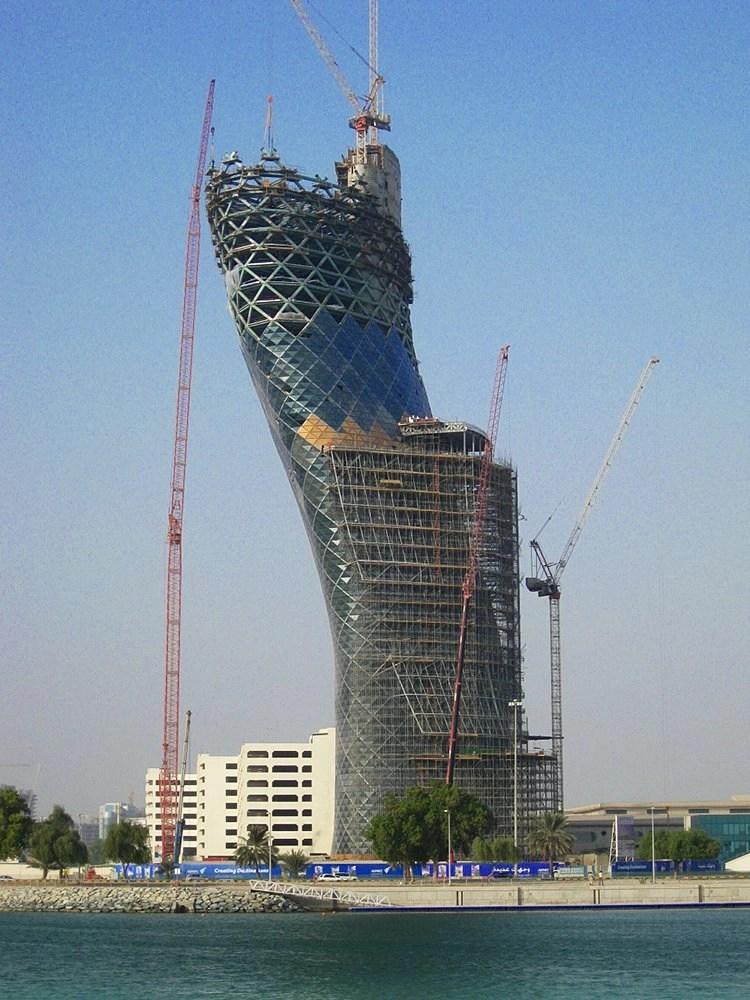 Capital Gate Abu Dhabi Graitec United Kingdom