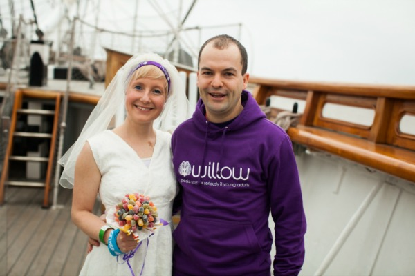 Marathon Wedding Day for Jackie and Duncan