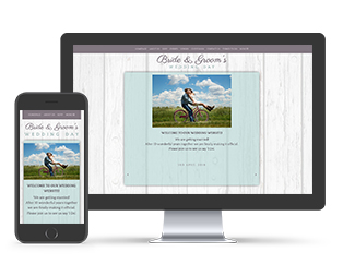 Country Style Wedding Invite Template