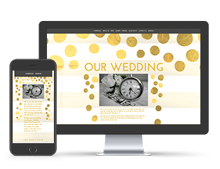 Dotty Over You Wedding Template