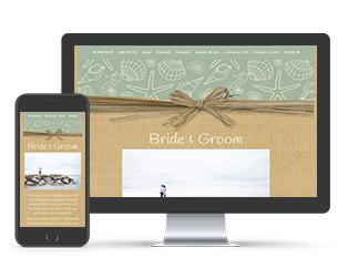 Raffia theme website